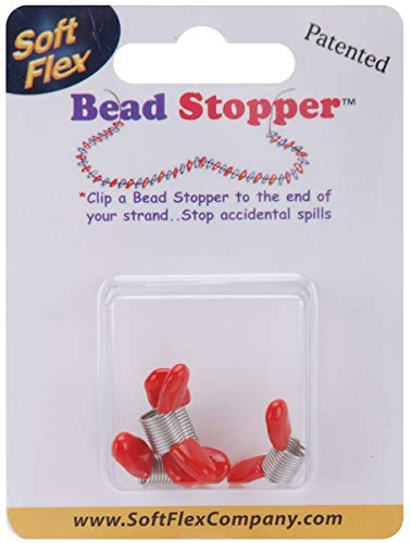 Soft Flex Diverse Mini Bead stopper-plastic punt metaal