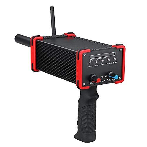 Review Wagsuyun Handheld Metal Detector GR-100 Mini Underground Metal Detector Locator Gold Wide Ran...