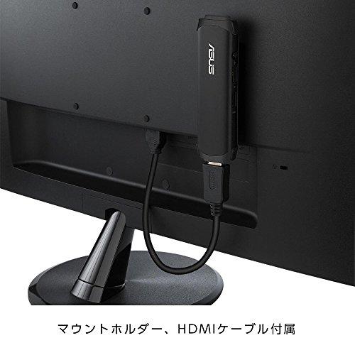 ASUSスティック型デスクトップVivoStickTS10ブラックTS10-B174DWin10Pro/intelAtomZ8350/4G/64GBeMMC/802.11a/b/g/n/ac)