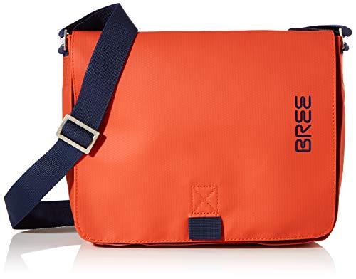 BREE Unisex-Erwachsene PNCH 61 Shoulder Bag Umhängetasche, Orange (Pumpkin), 6x21x26 cm