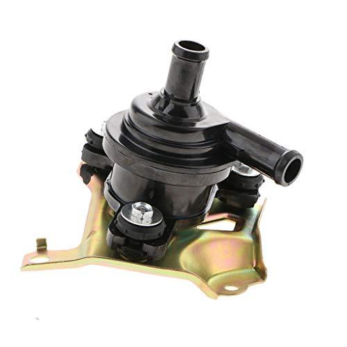 H HILABEE Bomba de Agua Eléctrica con Inversor de Refrigeración Del Motor, 12 V con Soporte para Prius Hybrid 2004-2009, 135x120x105 Mm, Negro
