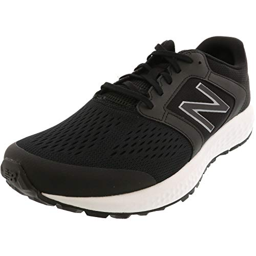 New Balance 520v5, Zapatillas de Running Hombre, Negro (Black/White Lh5), 44 EU