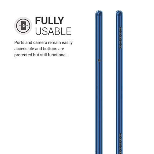 kwmobile Hülle kompatibel mit Huawei MediaPad T5 10 - Silikon Tablet Cover Case Schutzhülle Blau