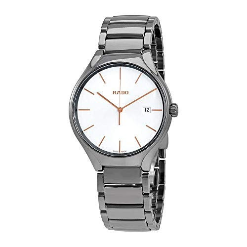 Rado True White Dial Ceramic Men's Watch R27239102
