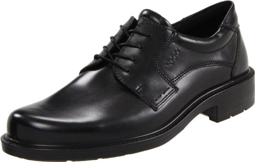 Best value ECCO Men's Boston Oxford,Black,43 EU9 9.5 M US