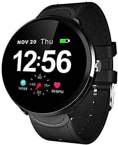 Reloj Inteligente Mujeres Y Hombres IP67 Impermeable Monitoreo de Ritmo Cardíaco Pulsera SMS Recordar Actividad Tracker Bluetooth Smartwatch para Android e IOS-A