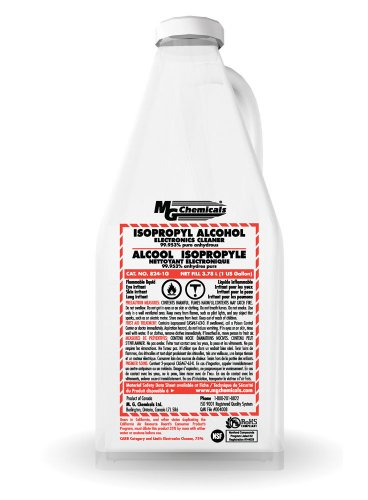 MG Chemicals 824 99.9% Isopropyl Alcohol Liquid Cleaner