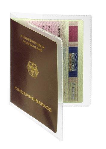 DURABLE Hunke & Jochheim Doppelhülle, dokumentenecht, transparent, 196x134mm