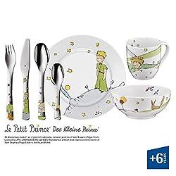 WMF 1294059974 Kinderbesteck-Set 7-teilig Der Kleine Prinz