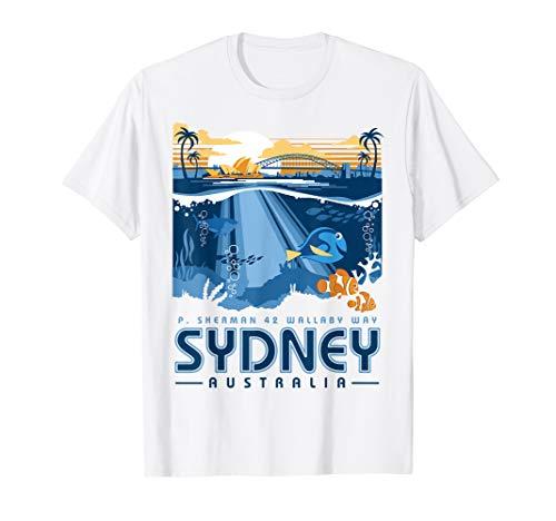Disney Pixar Finding Nemo Sydney Australia Poster T-Shirt