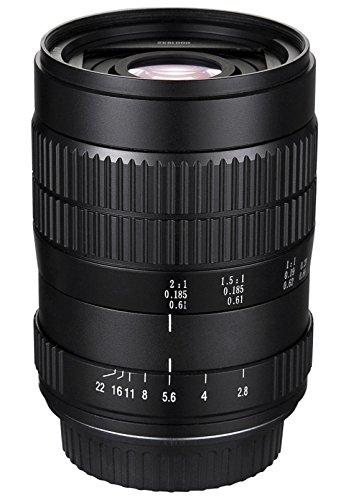 Oshiro 60mm f/2.82: 1LD Unc ultra-macro manuale obiettivo per Sony NEX E-mount, A7, A7R, A7S A6300, A5000, A6000, A5100, A3000, NEX-7, NEX-6, NEX-5N, NEX-5R, NEX-5T e 3N fotocamere digitali (eos-nex)