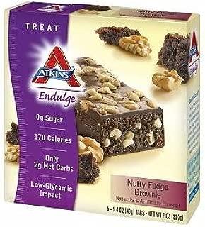 Atkins Endulge Brownie, Nutty Fudge 5 ct (Quantity of 5)