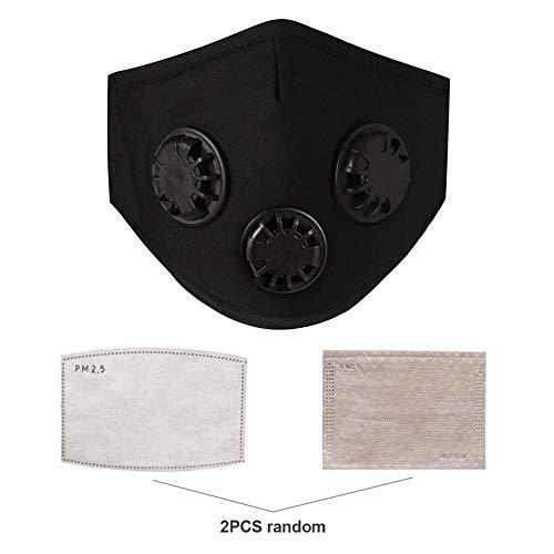 SNIIA Máscara Antipolvo Filtro válvula exhalación