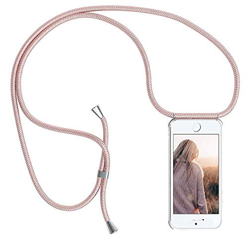 YuhooTech Funda con Cuerda para iPhone 5 / 5S / SE