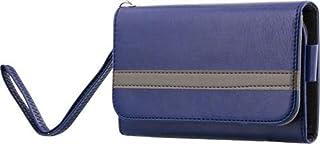 STREETZ artificiellt läderbältehållare plånboksfodral för iPhone 6 – blå