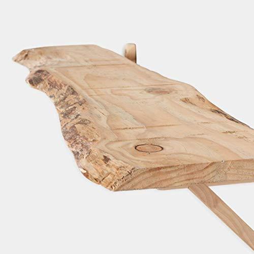 Rebajas oferta estante, alacena, balda leja, de pared de madera maciza de pino con forma de arbol y escuadras de madera 80x20-25, se hacen a medida, consultar