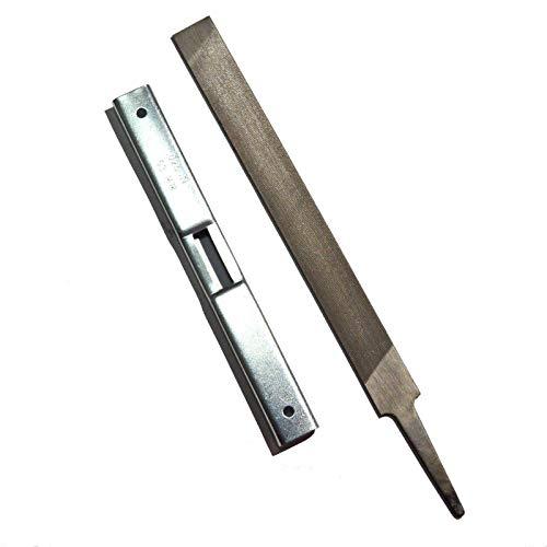 Depth Gauge + Flat File Kit Chain Saw Sharpener for General Chainsaw Stihl Sharpening Tool File Guide