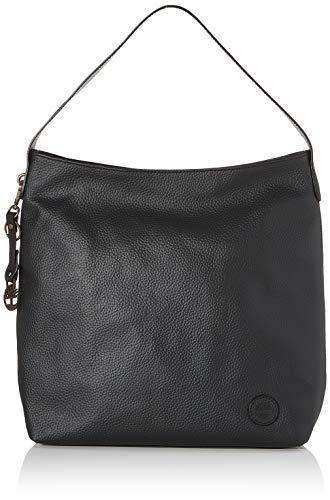 Timberland Unisex-Erwachsene Newburyport Shoulder Bag Turnbeutel, Black, 34 cm