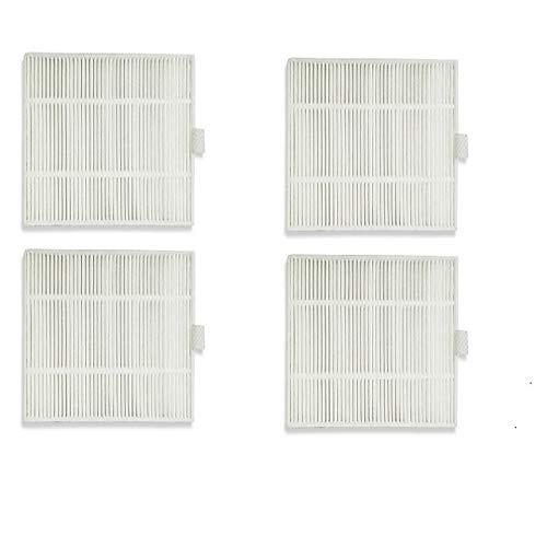 LOVELY Accessoires pour Aspirateur 4pcs / lot Aspirateur Robot Filtres Filtre HEPA for Liectroux C30B Robotic Aspirateur Filtre Accessoires Pièces Remplacement