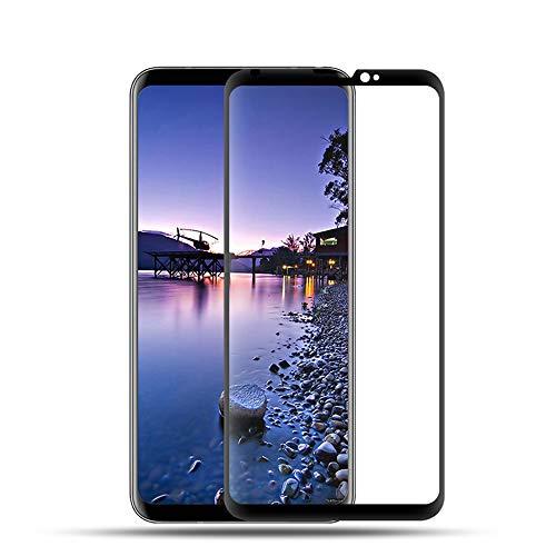 Displayschutzfolie aus gehärtetem Glas für LG V30 / V30 Plus [2er-Pack] [3D gebogen] [Kratzfest] 9H Härte gehärtetes Glas für LG V30 / V30 Plus H931, US998, AS998, H930, H933, H932, VS996, US998