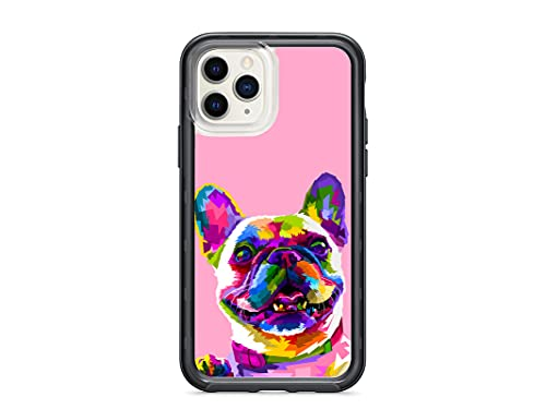Kaidan iPhone 12 Pro Max Cute Dog 11 12 Mini 11 SE 2020 Frenchie Case 8 7 Plus 5S 6S 6 French Bulldog XR X XS Samsung Galaxy S21 Ultra Note 20 10 9 S20 FE S9 S8 S10 Puppy Art Compatible with appd1028
