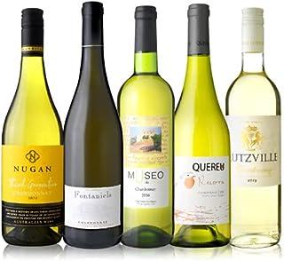 ◆第8弾 世界の人気品種 シャルドネ を味わいつくす 5本 白ワイン セット (750ml×5本)[T]