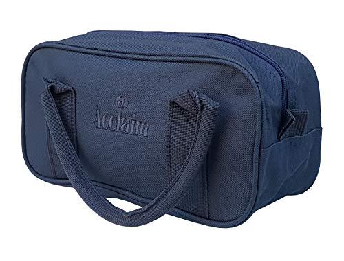 Acclaim Paris Nylon Bowl-Tasche für zwei Schüsseln, flach, Grün