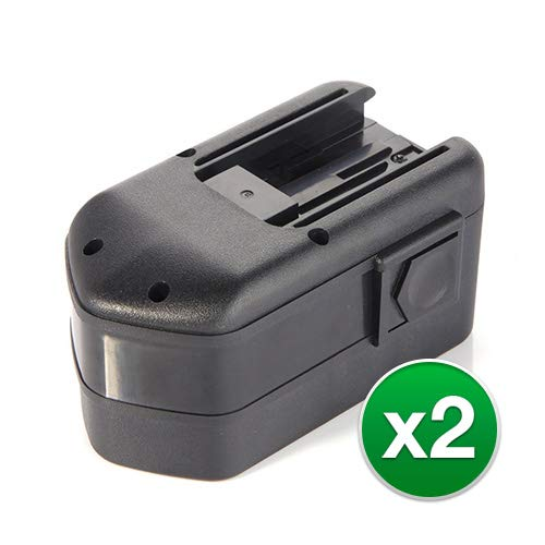 OKSLO Replacement 2000mAh Battery for Milwaukee 0522-25/6310-20 Power Tools (2 Pk)