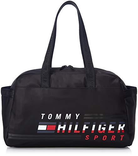 Tommy Hilfiger - Bolsa de deporte para hombre, color negro