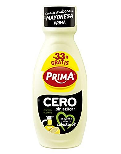 Prima - Cerocol, Mayonesa sin Huevo, Ayuda a Reducir el Colesterol, 300ml + 100ml Gratis