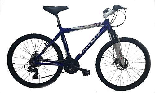 "Gotty - Bicicleta de montaña 26"" CRH, MTB Caballero Aluminio 26"", con suspensión Zoom Gama Alta, Cambio Shimano de 18 velocidades y Frenos de Disco."