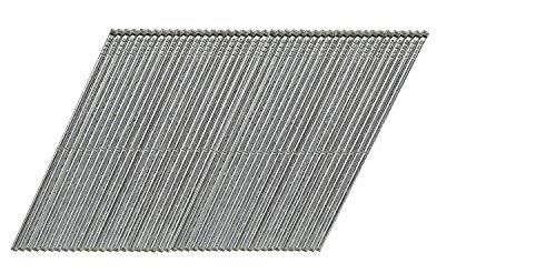 Dewalt DNBA1644GZ - Chiodi zincati 16GA, 20 gradi, confezione da 2500 pezzi, 44 mm, 1 W, nero, DNBA1644GZ-44 mm (2500)