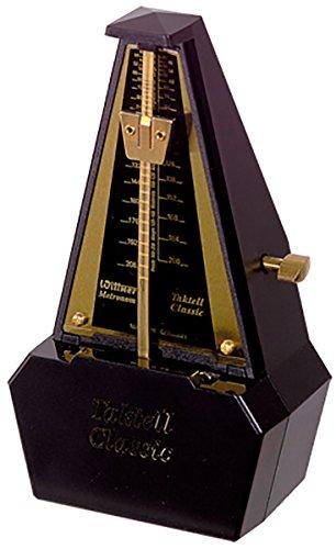 Wittner Taktell Classic Metronom Kunststoffgehäuse ohne Glocke vergoldet