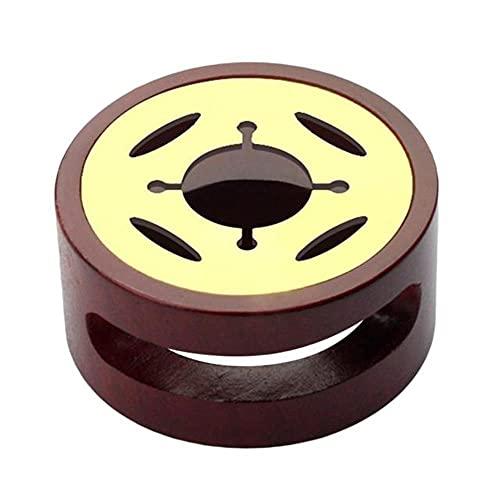 Horno de cera de sellado Vintage, olla, mango de madera, cuchara de cera de sellado para sellado de cera, sello de cera decorativo, regalo artesanal, ovalado