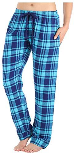 Frankie & Johnny Pantalones Pijama Franela 100% algodón