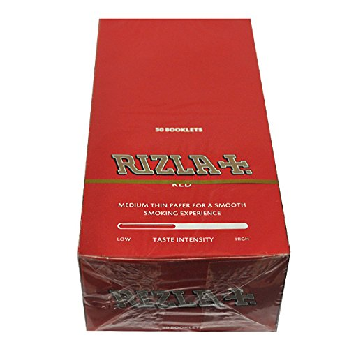 RIZLA CARTINE CORTE ROSSE - 50 LIBRETTI