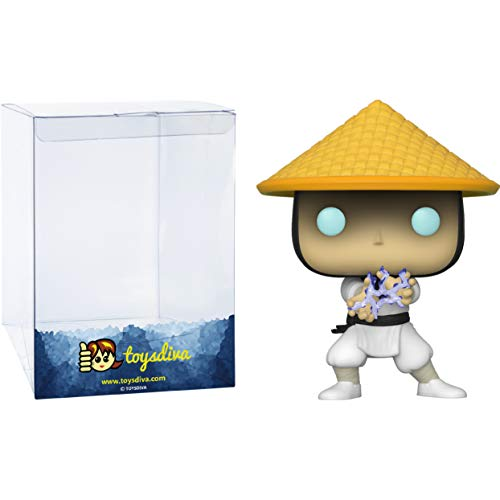 Raiden: Funk o Pop! Games Vinyl Figure Bundle with 1 Compatible