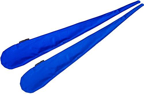 Par de calcetines de bolas (Sock Poi) Flames N Games NO Pelles – Lycra extensible (azul)