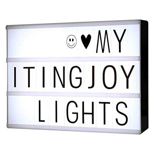 Cajas de luz LED A4 Cartas de bricolaje