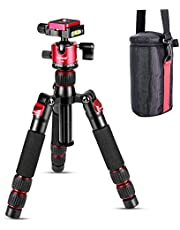 Koolehaoda Mini statyw stołowy ze stopu aluminium 7.5-21 cali z regulacją wysokości z torbą do przenoszenia kamery wideo DSLR, obciążenie do 13 funtów / 6 kg. (H-55)