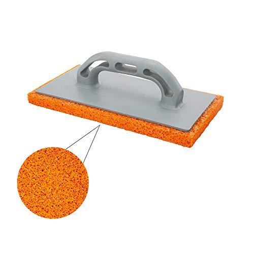 WOLFPACK LINEA PROFESIONAL 2300357 Talocha Espuma Naranja Mango De Fibra 14x28 cm. Acabado Grueso