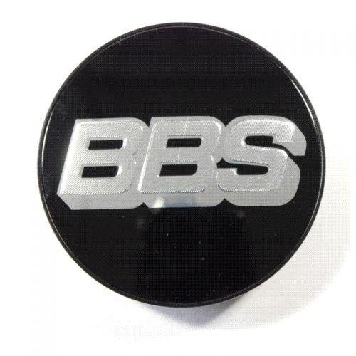 BBS Symbolscheibe silber-schwarz 70,6mm Nabenabdeckung / Nabendeckel