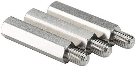 304 roestvrijstalen stud enkelkops enkele zeshoekige terminal chassis moederbord verbindingskolom M2M25M3M4M5M633561