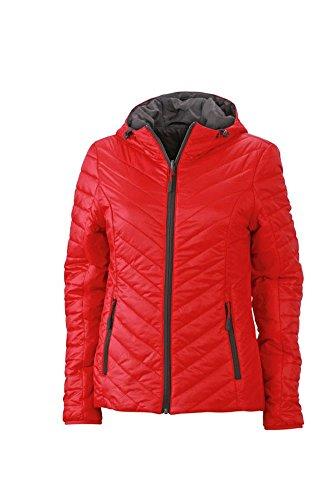 Ladies' Lightweight Jacket   red/carbon   XXL im digatex-package