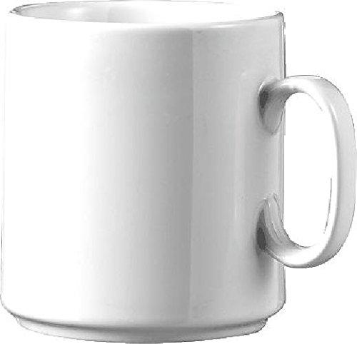 Esmeyer Kaffeebecher DIANE/402-108, weiß, 0,28 l, Inh. 6