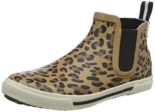 Tom Joule Damen Rainwell Gummistiefel, Braun (Tan Leopard Tan Leopard), 36 EU