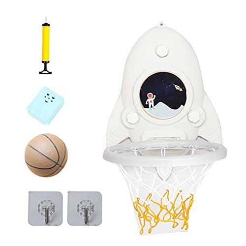 Dingyue Mini baloncesto portátil aro conjunto altura ajustable sin perforación bola tablero pelota portería juguetes para niños