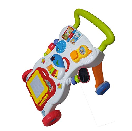 Laufwagen mit Zeichentafel, Piano und kleinem Telefon - 6