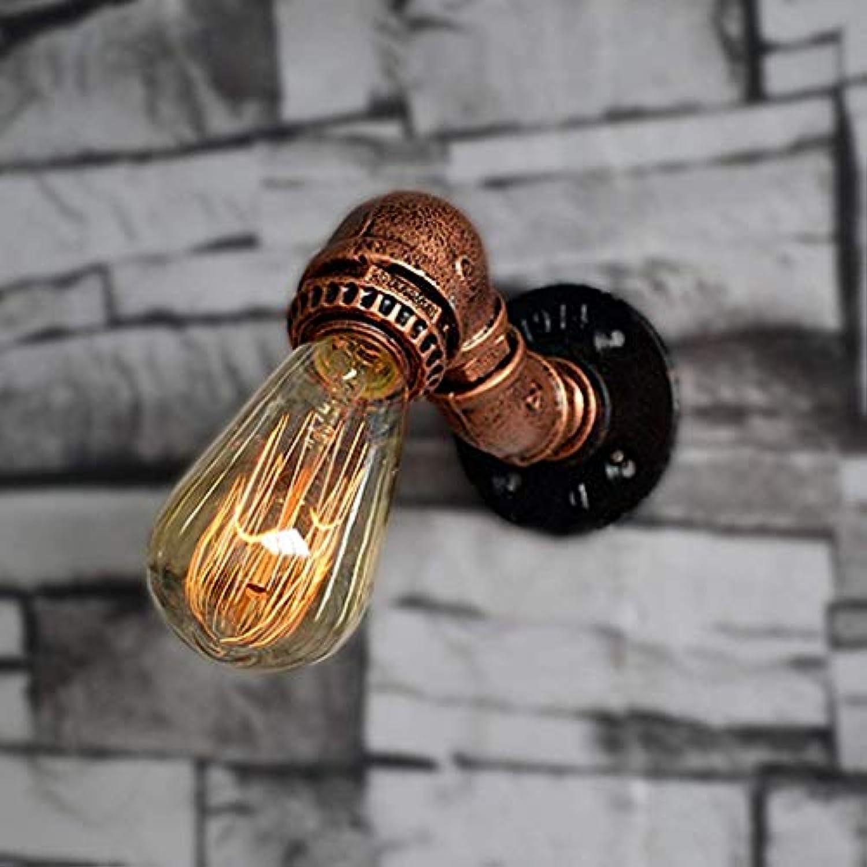 Mariisay Led Creative Simple Lampe Licht Minimalistischen Von Holz Und Study Hall Balkon Wandleuchte Wandlampe Vintage (Farbe   A-Größe)