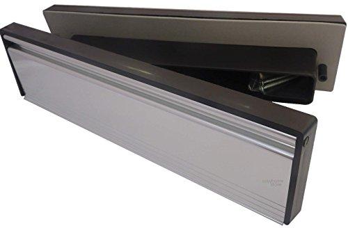 Briefkastenklappe External dimentions 295mm x 75mm (Internal Aperture 279mm x45mm) silber